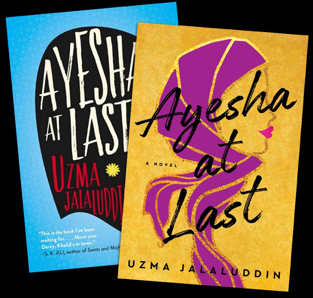 Ayesha at last Book Covers